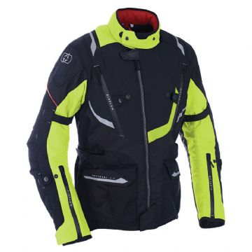Oxford Montreal 3.0 Motorcycle Motorbike Jacket Black Fluo - NEW FOR 2019!!